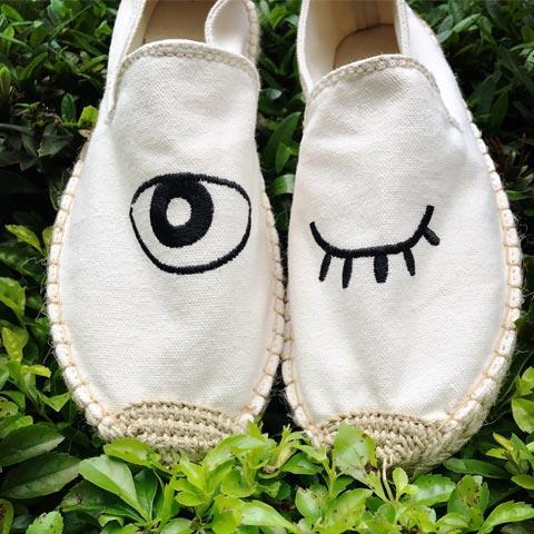 這個夏天來試試舒適又透氣的草編鞋吧!