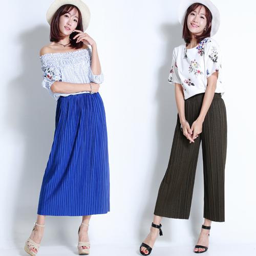 多層次穿搭的夏日寬褲/棉裙LOOK