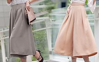 秋天怎麼能少了洋裝和寬褲