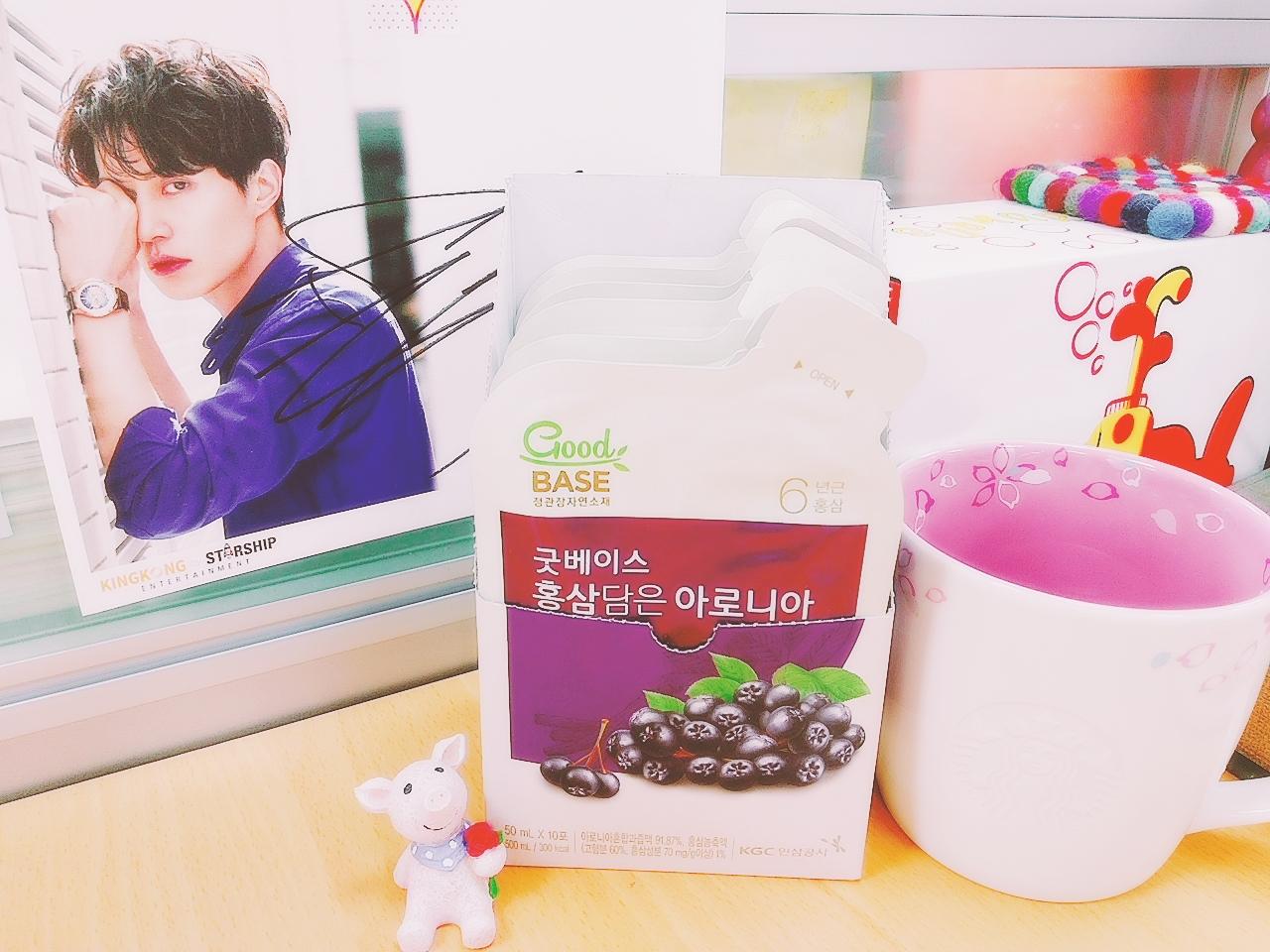 韓國女星瘋搶的美容飲-正官庄高麗蔘野櫻莓飲♥