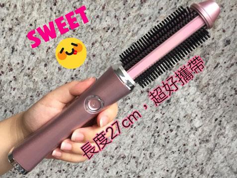 夢幻公主捲♥秘密武器!【Instyle】無線直捲二用捲髮器