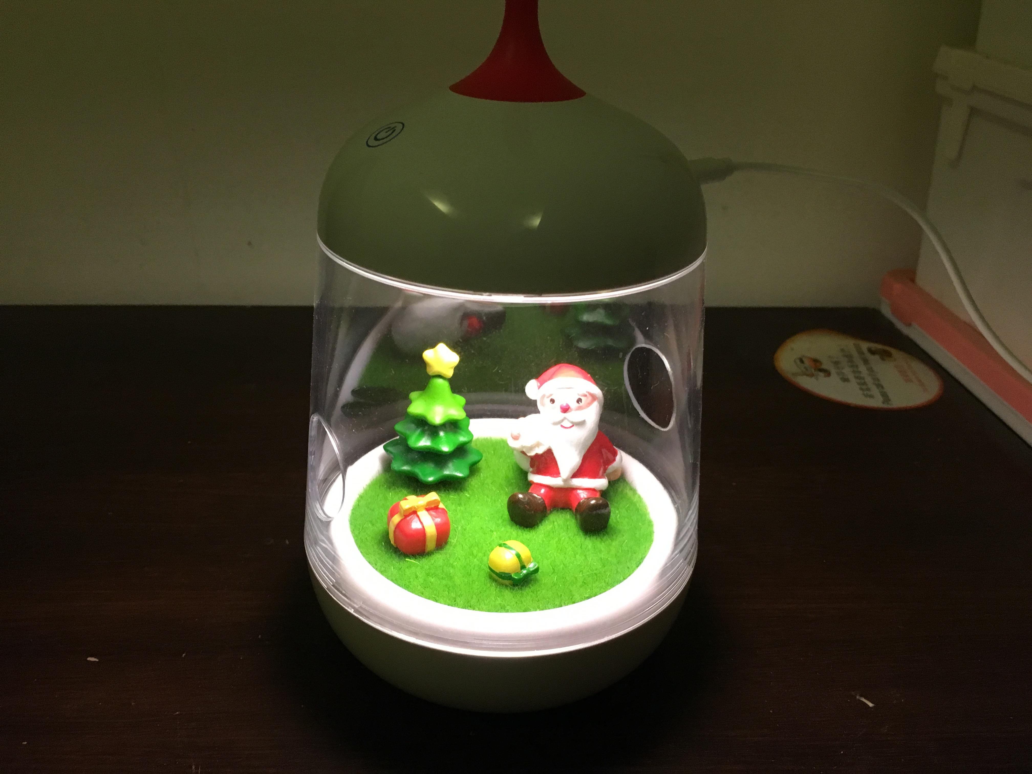 聖誕節交換禮物首選~微造景觸控燈飾~七彩變換!樂趣無窮