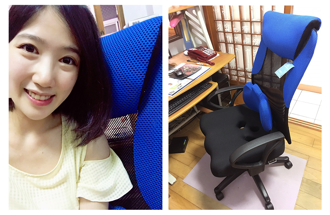 (mo試用精選) 寵愛爸比趁現在:【DIJIA】朵亞新型升降護腰電腦椅