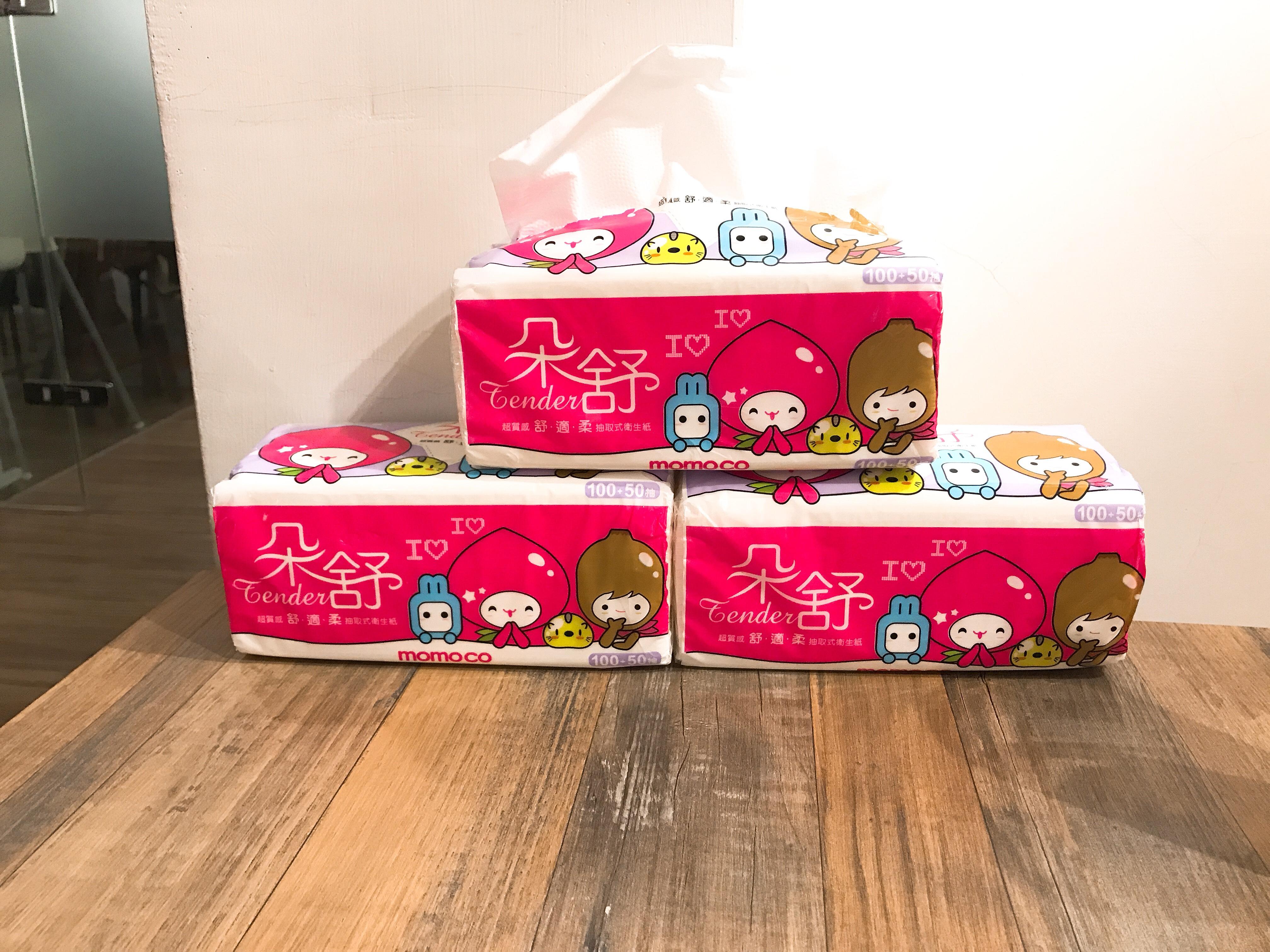 momo獨家上市!超萌朵舒momco 衛生紙柔軟新升級