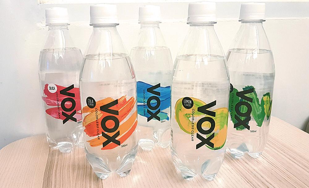日本氣泡水排行榜霸主!【VOX】氣泡礦泉水系列