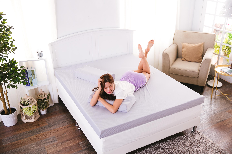 獨家送記憶枕【1/3 A LIFE】 8cm全平面記憶床墊♥讓我好眠超幸福♥