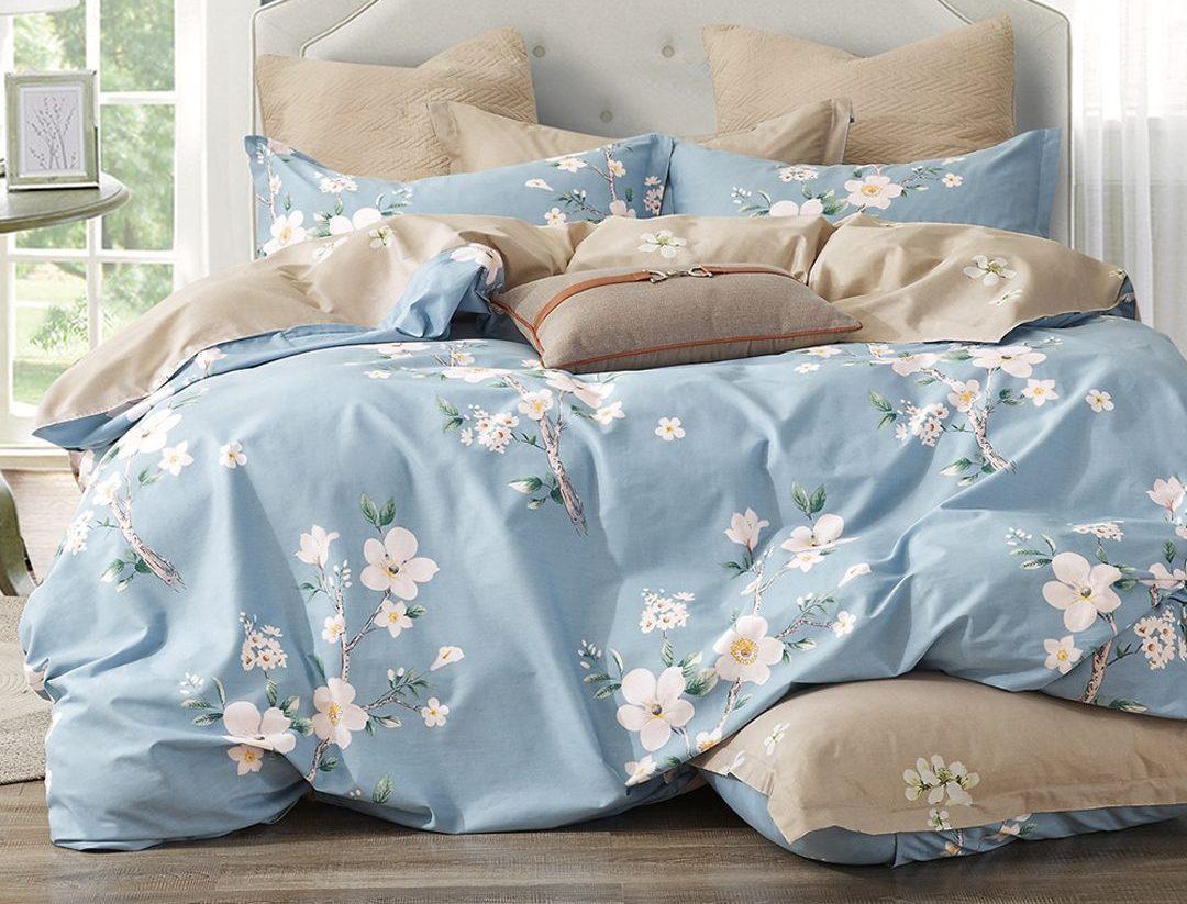 秋冬暖心推薦~〈DON〉200織精梳純棉兩用被床罩組
