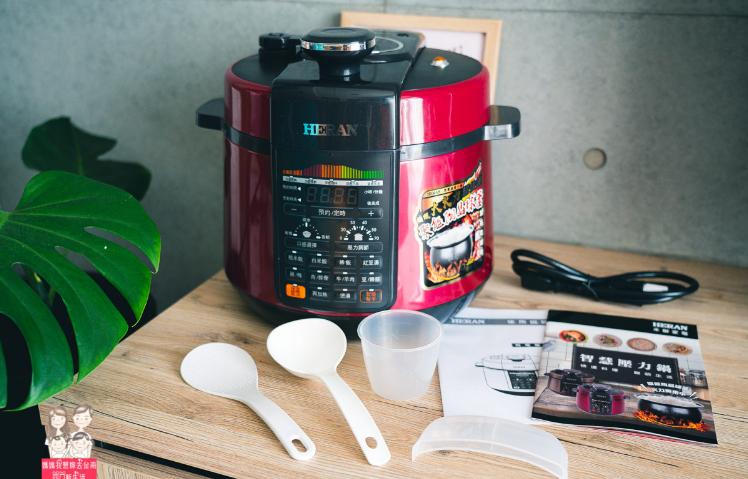 HERAN 禾聯 11人份微電腦陶晶球釜智能壓力鍋(11S2-HPC),煮飯、煲湯、甜品等料理,一鍵按下輕鬆完成~