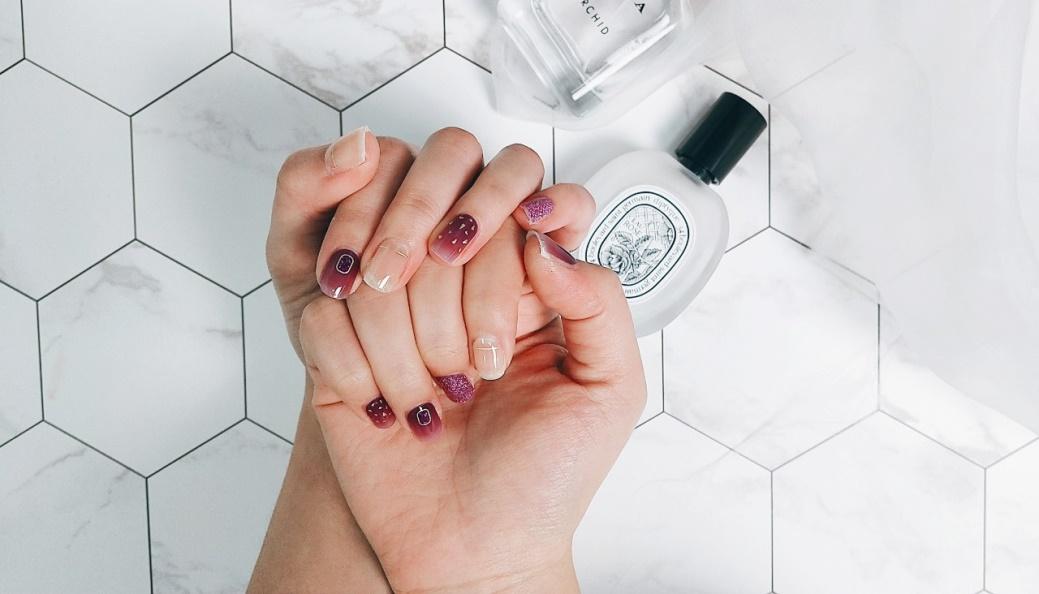 ♥【KISS New York】♥ 時尚光療指甲貼組