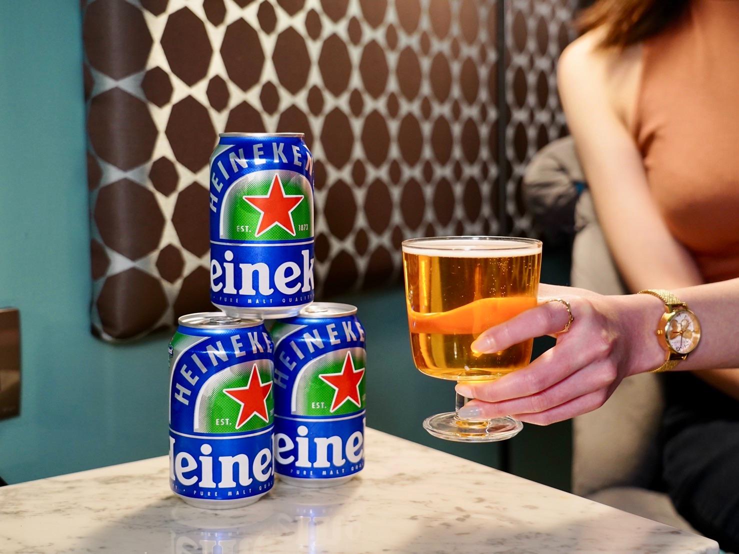 海尼根0.0零酒精▼隨時隨地享受!加碼贈防水包